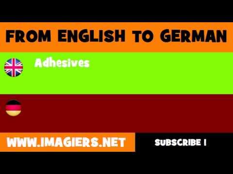 Deutsch Englisch Kleber Youtube