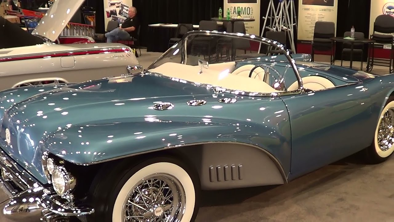 1954 Buick Wildcat Ii Recreation Sema 2013 Youtube
