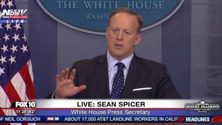 WOW: Sean Spicer GOES OFF On Reporter Over Russia Reporting On President Trump