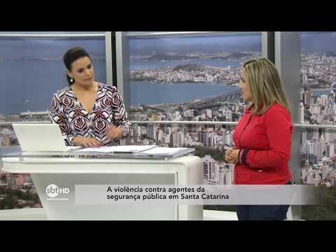 A violência contra agentes da segurança pública em Santa Catarina  SBT Meio-Dia