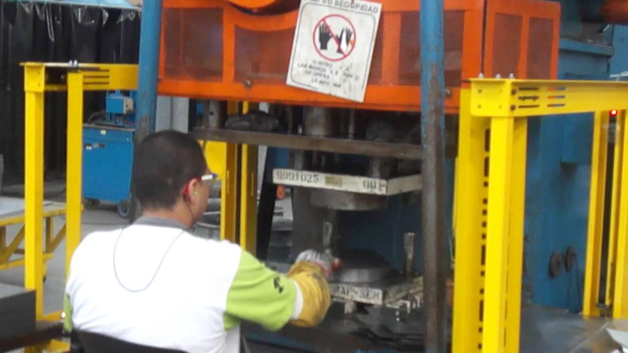 Sistema Seguridad Troqueladora Hidr U00c1ulica Haceb
