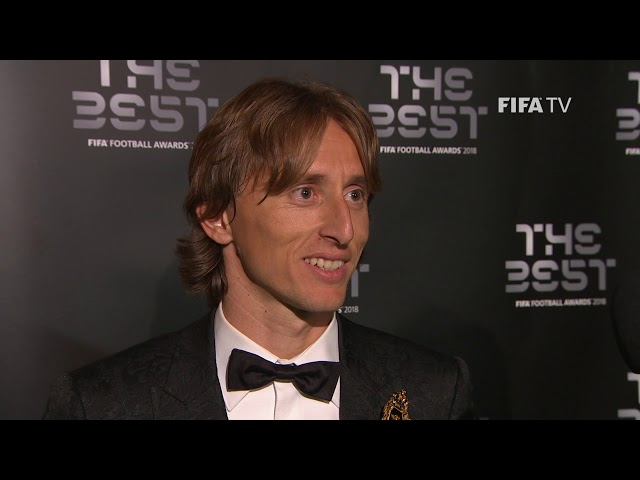 Luka Modric interview - The Best FIFA Men's Player 2018 (ENGLISH)