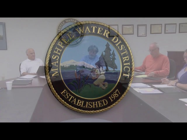 Mashpee Water District Commission 04 23 19
