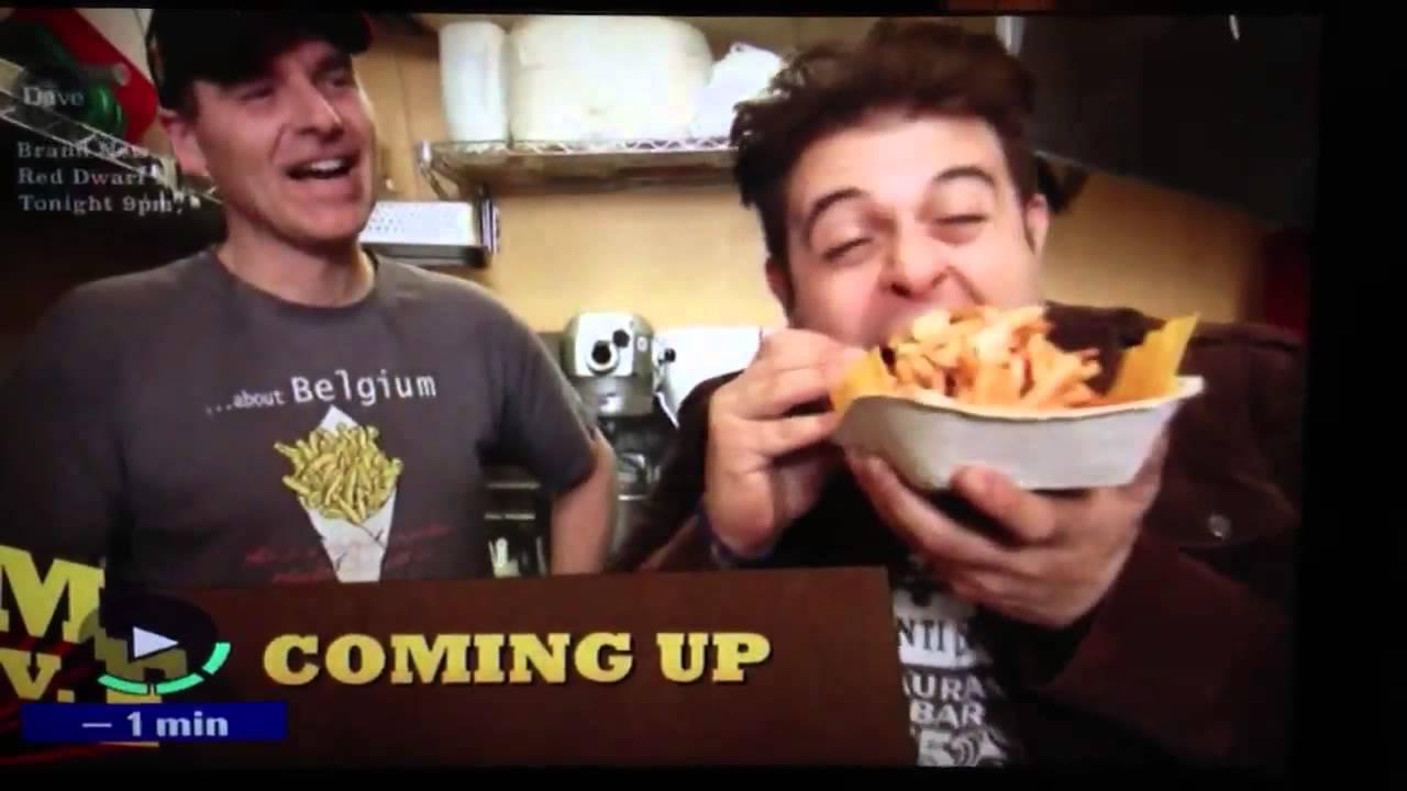 Man Vs Food Why Is Adam Not Eating