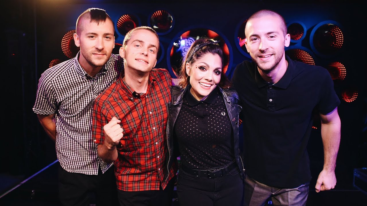 """The Interrupters Perform """"Take Back The Power"""" Live on Kevin ..."""