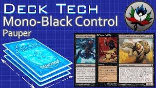 "Mono Black Control ""Budget"" Pauper Deck Tech – MTG!"