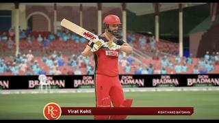 don bradman cricket 17  bbl v ipl  brisbane heat vs royal challengers bangalore