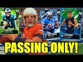 PASSING ONLY CHALLENGE! Madden 18 Ultimate Team Gameplay