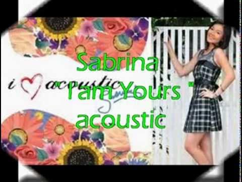 sabrina I'm yours liryc