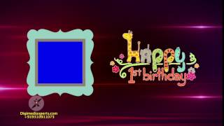 Birthday background free download   Animated Birthday wishes   Motion Video background