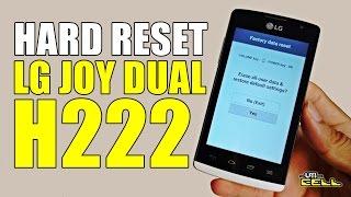 Hard Reset no LG Joy (H222) #UTICell