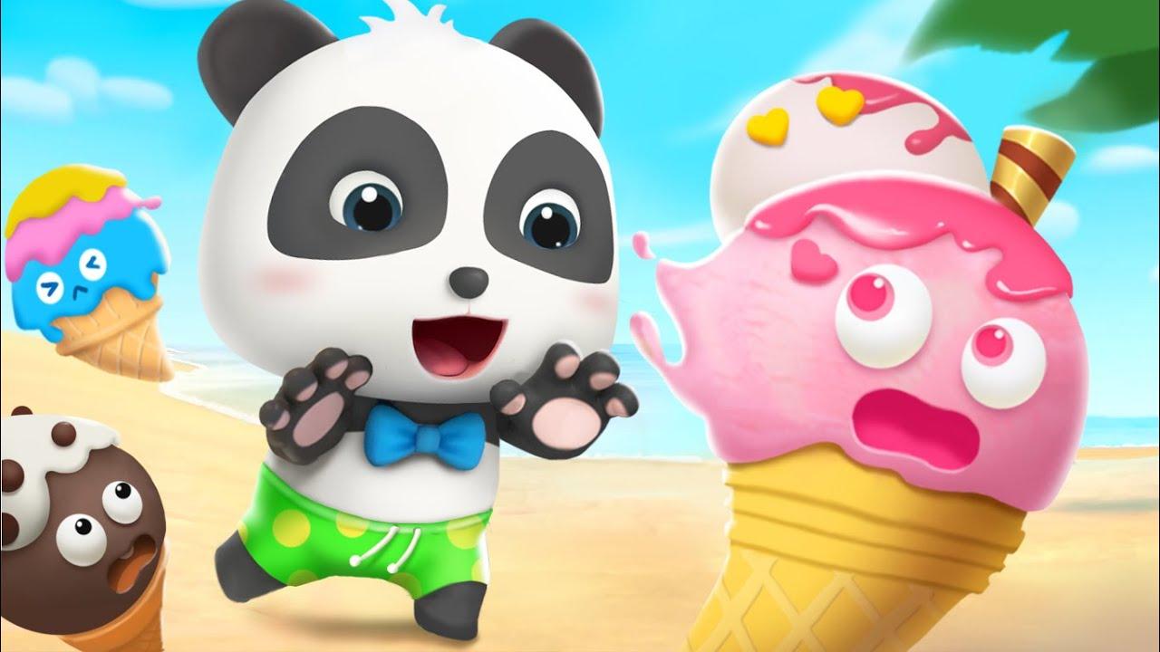 Diez Helados en la Playa | Canciones Infantiles | Vídeo Para Niños | BabyBus Español