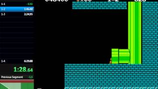 Super Mario Bros. Frustration Speedrun in 3:35.79