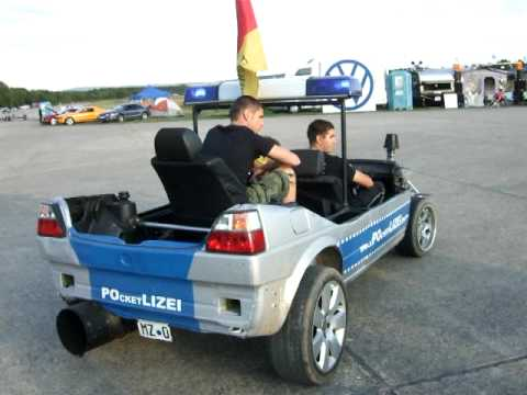 grw 2009 golf 2 pocketlizei funcar polizei youtube. Black Bedroom Furniture Sets. Home Design Ideas