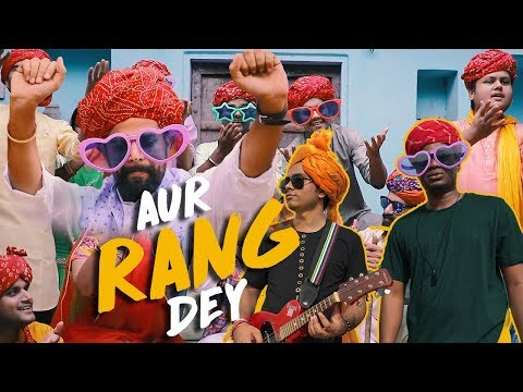 Aur Rang Dey | Rap Mix | Rapperiya Baalam Ft. Shady Joe & Amol | Latest Rajasthani Song 2017