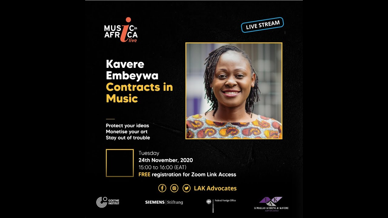 Download EP 2/5: Legal Challenges Facing Musicians in the Digital Era: Contracts in Music - Kavere Embeywa