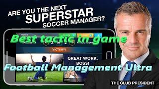 Football Management Ultra trick screenshot 3