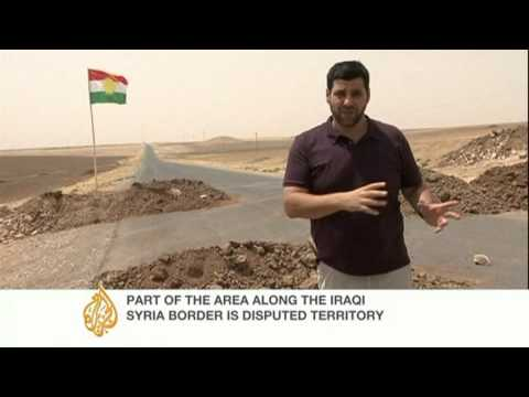 Kurdish forces prevent Iraqi troops from disputed border area