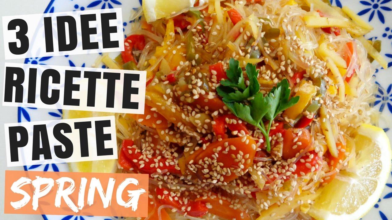 3 paste primaverili idee paste veloci e sfiziose for Ricette veloci vegetariane primi piatti