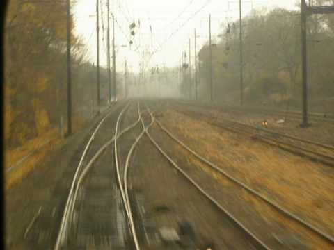 Amtrak THORN Intelrocking Track 4 Westbound Rear View