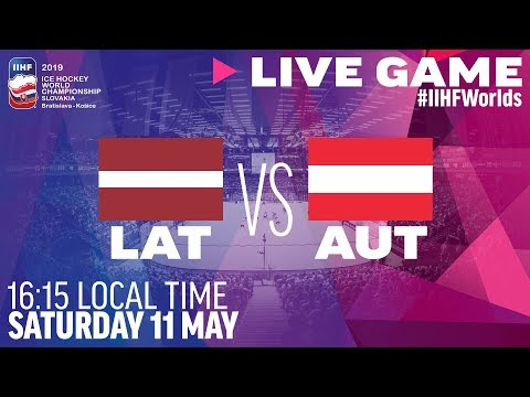 Latvia Vs. Austria | Full Game | 2019 IIHF Ice Hockey World Championship