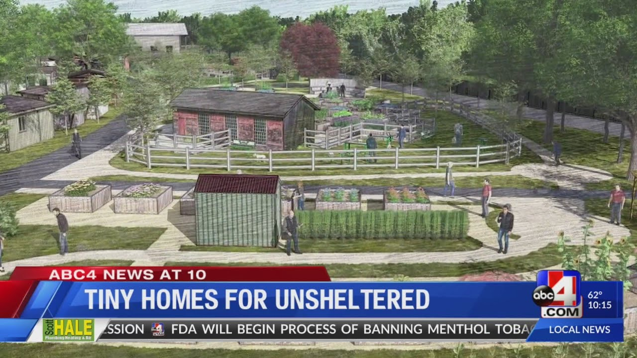 Other Side Academy students step up to support 'tiny home village' in SLC