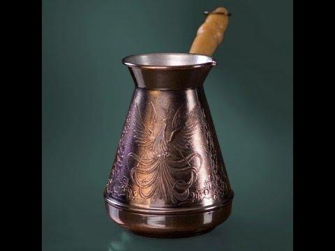 как варить правильный кофе в турке в домашних условиях на газовой или электрической плите