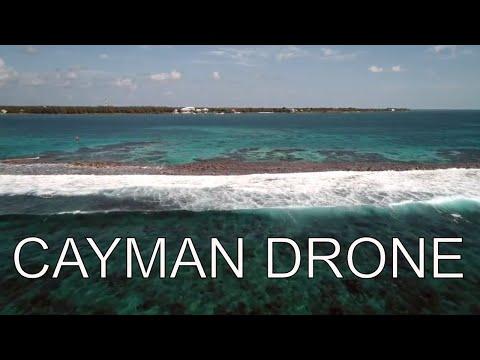 CAYMAN ISLAND drone footage 4k