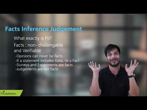 FIJ/ Fact,Inference And Judgement Part 1