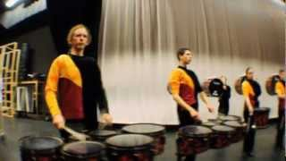 Powhatan High School Drumline Warm-Up