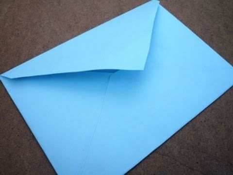 How to Make Your Own Envelopes - A Craft Tutorial - YouTube
