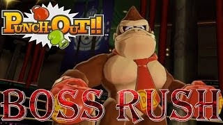 Repeat youtube video Punch-Out!! Wii - Title Defense Rush (All Opponents, No Damage)