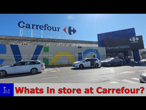 Supermarket Food Shopping in Spain | Carrefour Hypermarket | Whats in store at Torrevieja Carrefour?