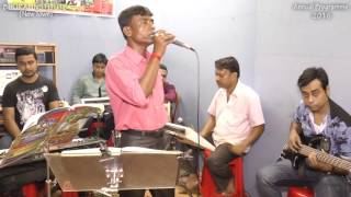 Aaj Ei Dintake Song Live by Sanjib Mondal | Bhorai Institute (New Town) Annual Programme - 2016