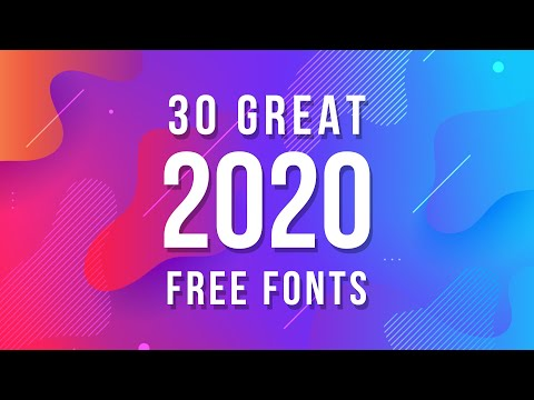 Here is a video on 7 amazing free fonts for logos in 2019! Sometimes it's hard to find new fonts and.