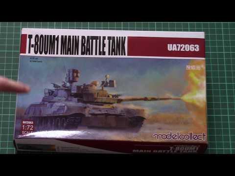 Modelcollect 1/72 T-80UM1 (UA72063) Review