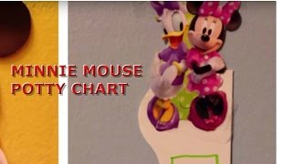 Minnie Mouse Potty Chart #2
