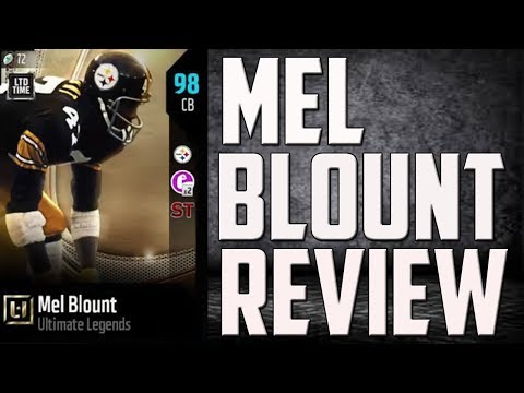 How Good is 97 Overall Mel Blount? MUT 18 Card Review