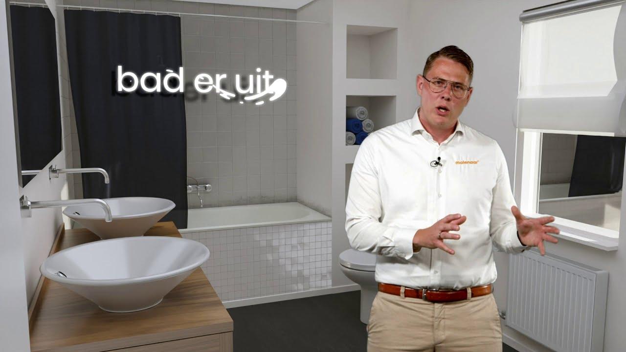 Badkamer Renovatie In 1 Dag Inclusief Montage Molenaar Badkamers