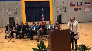Reward School Celebration at Clinch School Pt  1 8 14 18