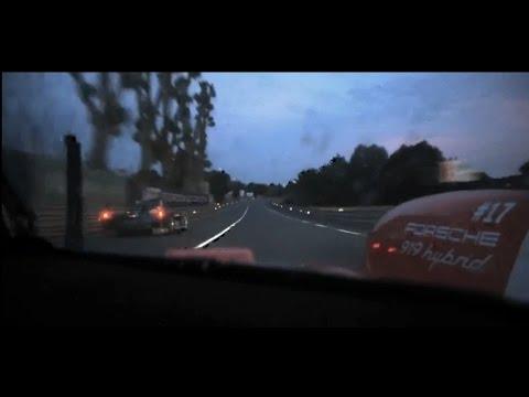 2015 24 Hours Le Mans - Porsche #17 Onboard (22:00-00:05)