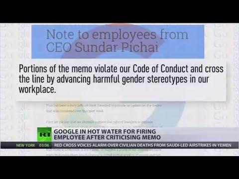 Google sacks employee for memo on gender stereotypes