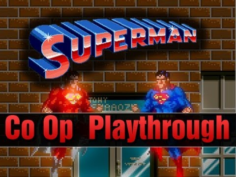 Superman Arcade Co op Longplay Full Playthrough Retro Classic 2 Players
