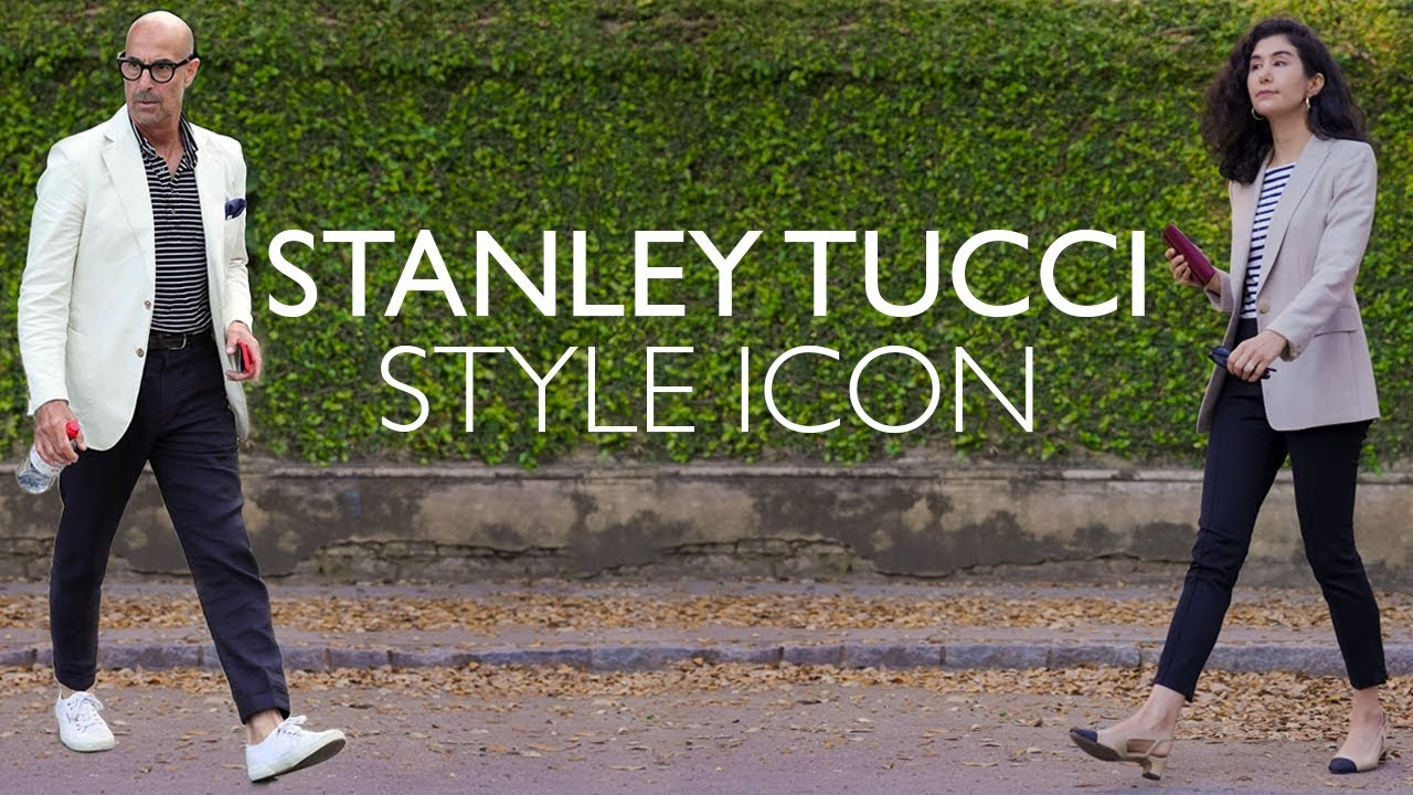 Copying Stanley Tucci Outfits & Why He's A Style Icon