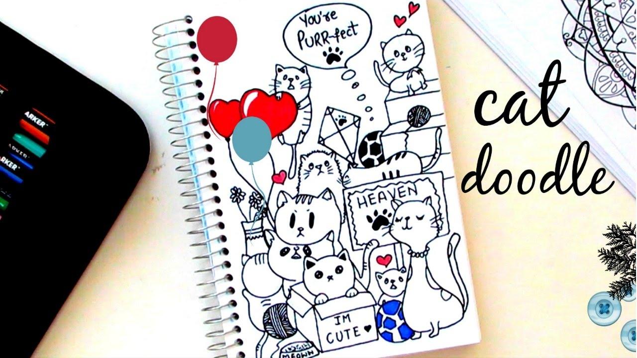 Cat Doodle ฅ ﻌ ฅ Youtube