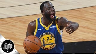 Draymond Green is one technical foul away from a suspension in Game 7 | The Jump