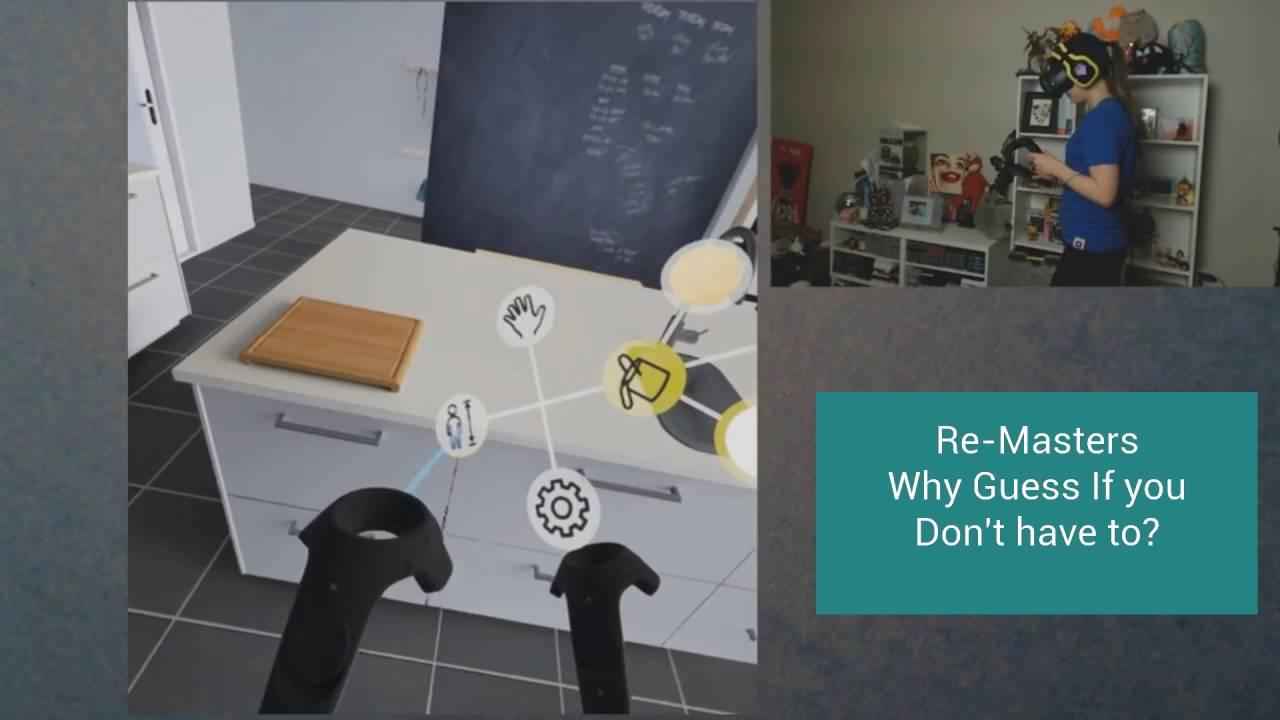 virtual reality kitchen design - youtube