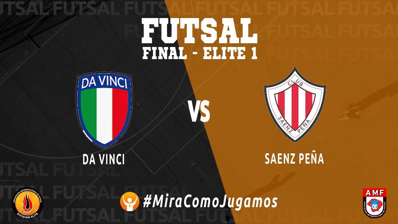 Download FUTSAL - DA VINCI VS SAENZ PEÑA - FECHA 2 - ELITE 1