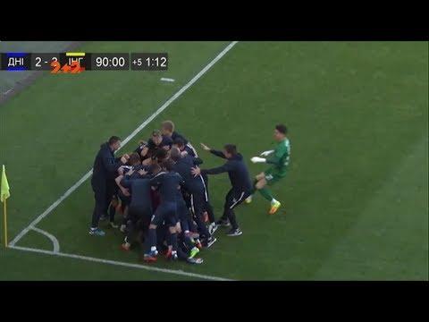СКДніпро-1 - Інгулець - 3:3. Відео-огляд матчу