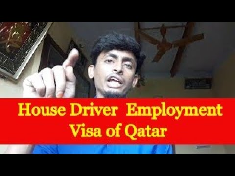 job in Dubai 195, Employment visa of Qatar for House Driver 250 driver want in argent
